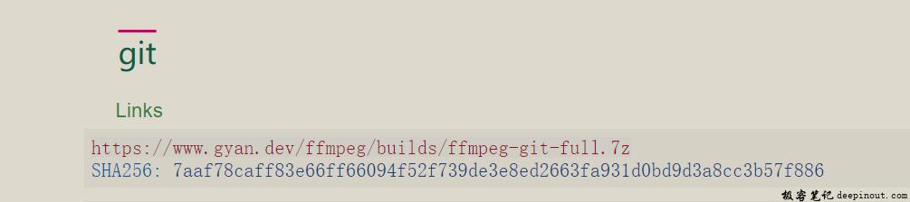 Matplotlib ffmpeg安装