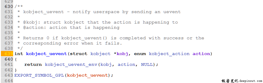 Linuxkernel--Uevent机制