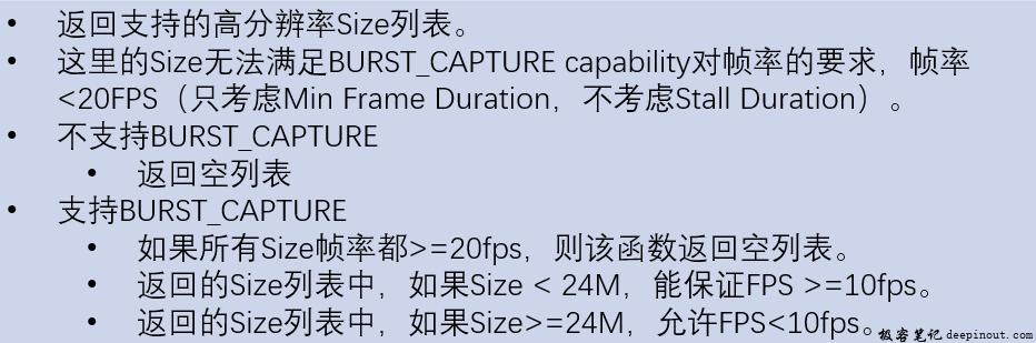 StreamConfigurationMap-高分辨率流配置