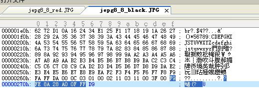 8×8黑色色块编码
