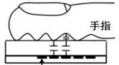 电容指纹示意图