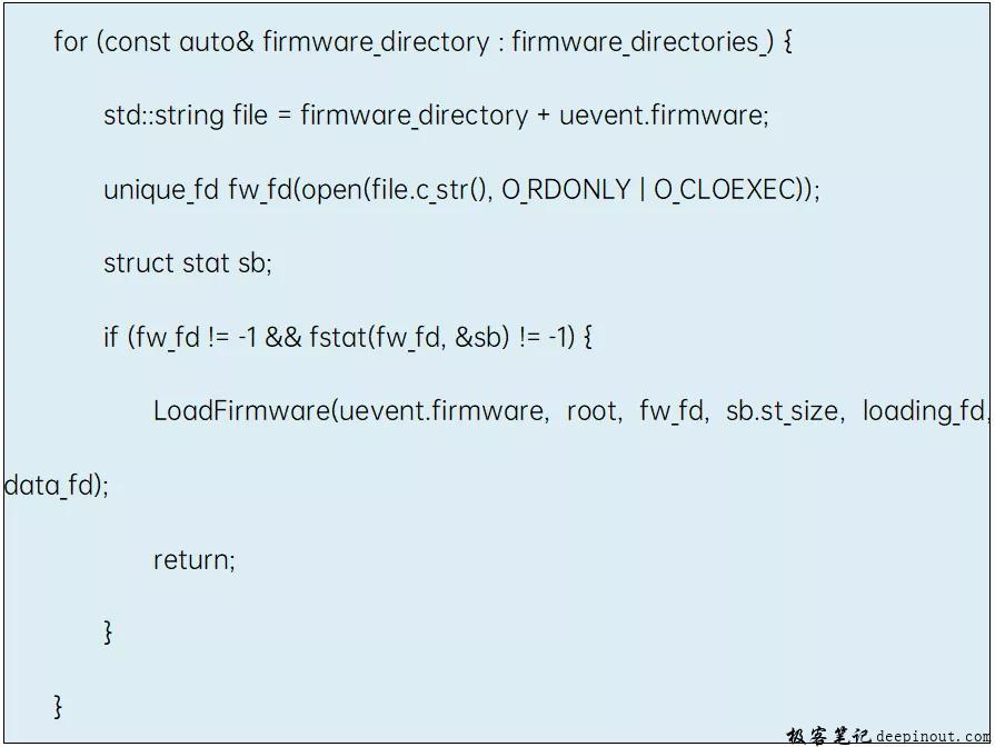 ProcessFirmwareEvent函数
