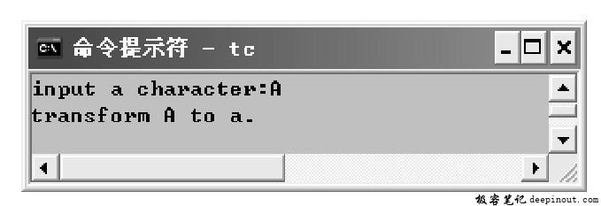 tolower()函数