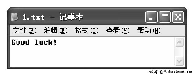 使用fputs函数将字符串写入文件中
