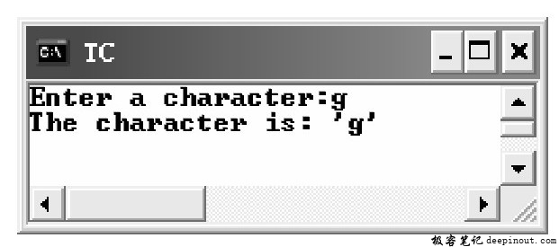 getc()函数 示例