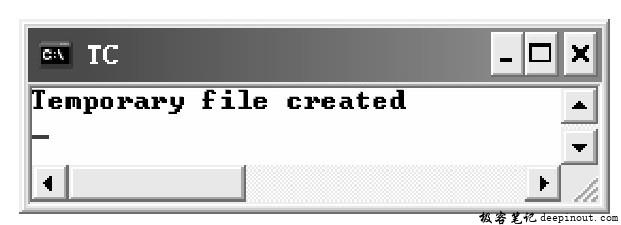 tmpfile()函数 示例