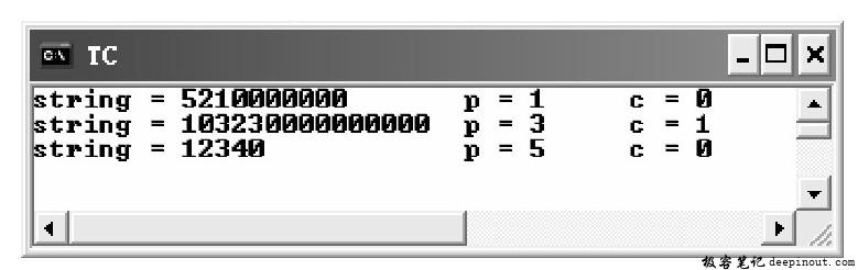 ecvt()函数 示例