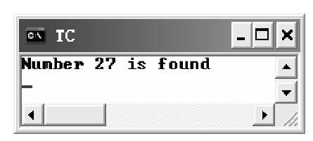 lsearch()函数 示例