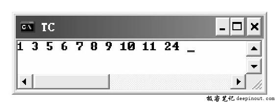 qsort()函数 示例