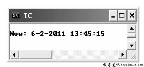 localtime()函数 示例