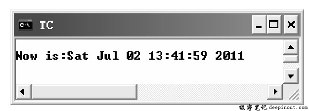 time()函数 示例