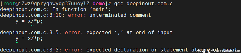 C语言注释