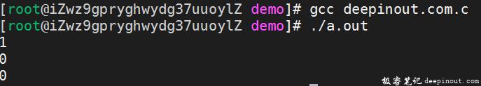 C语言逻辑运算符