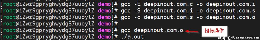 C语言编译过程
