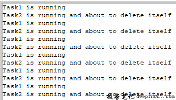 FreeRTOS 任务创建与删除