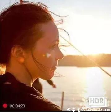 HDR拍人脸效果
