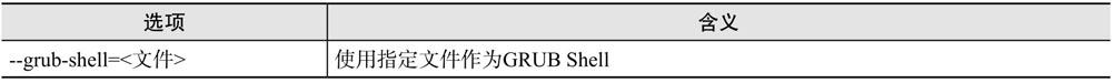 grub-md5-crypt命令选项含义