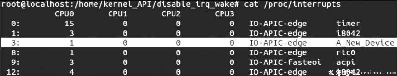 Linux内核API disable_irq_wake