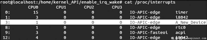 Linux内核API enable_irq_wake
