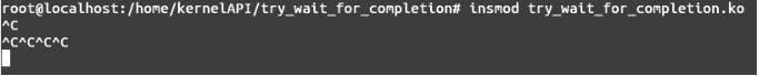 Linux内核API try_wait_for_completion
