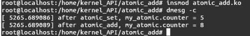 Linux内核API atomic_add