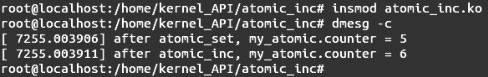 Linux内核API atomic_inc