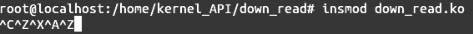 Linux内核API down_read