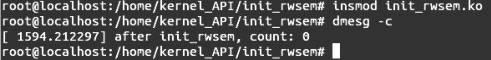 Linux内核API init_rwsem