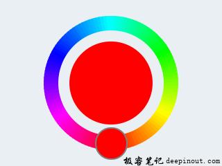 LVGL颜色选择器